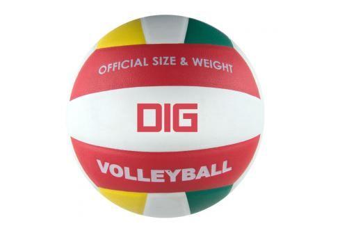 SPOKEY - DIG II Volejbalový míč bílo - červená velikost 5 Volejbal