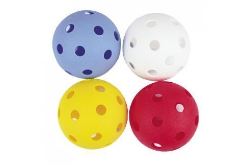 SPOKEY - DOMAIN-Florbalové míčky 4ks barevné Florbal