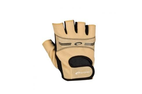 SPOKEY - ELENA Dámské Fitness rukavice béžová vel. M Rukavice pro fitness