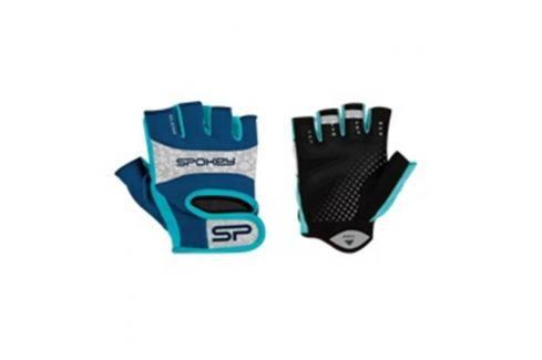 SPOKEY - ELENA II Dámské Fitness rukavice  vel.L modro-tyrkysové Rukavice pro fitness