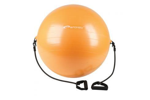 SPOKEY - ENERGETIC - Gymnastický míč s expanderem 65 cm  včetně pumpičky Fitness míče