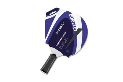 SPOKEY - EXTERIOR 1 - Pingpongová pálka černá polymer rovná rukojeť Stolni tenis