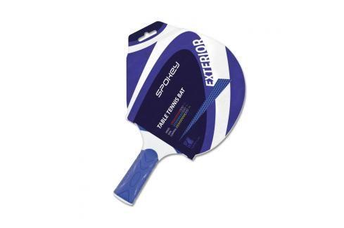 SPOKEY - EXTERIOR 2 - Pingpongová pálka modrá polymer rovná rukojeť Stolni tenis