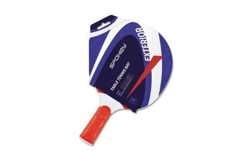 SPOKEY - EXTERIOR 2 - Pingpongová pálka červená polimer rovná rukojeť Stolni tenis
