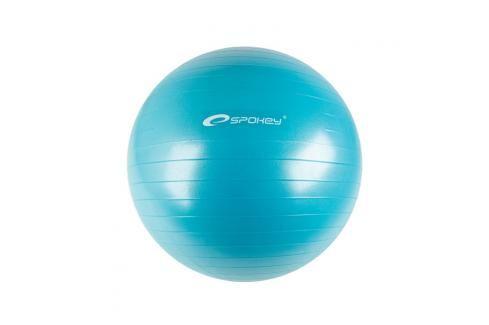 SPOKEY - FITBALL II - Gymnastický míč 55 cm včetně pumpičky, tyrkys Fitness míče