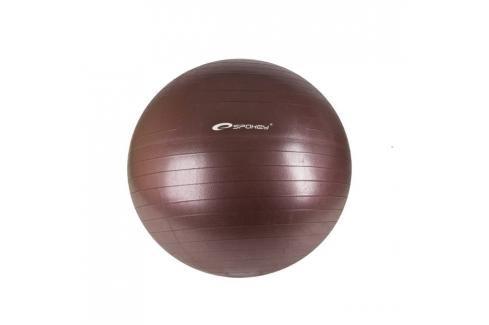 SPOKEY - FITBALL II - Gymnastický míč 65 cm včetně pumpičky, bordó Fitness míče