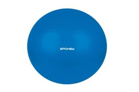 SPOKEY - FITBALL III - Gymnastický míč 55 cm včetně pumpičky modrý Fitness míče