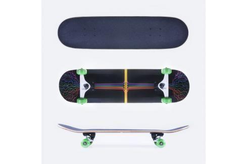 SPOKEY - FLOYD Skateboard 80 x 19,7 cm,  ABEC 5 carbon Skateboardy