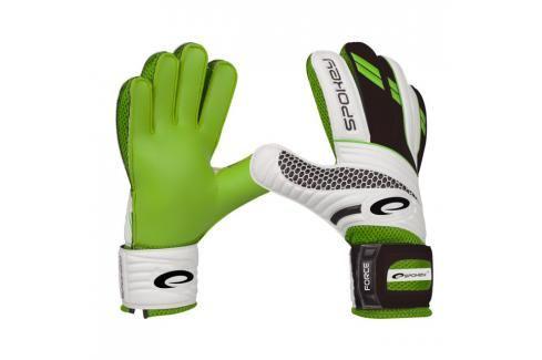 SPOKEY - FORCE brankářské rukavice - zelená  roz.8 Fotbal