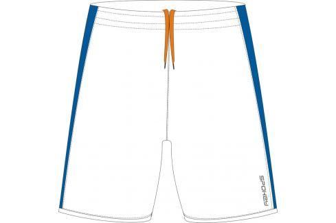SPOKEY - Fotbalové šortky bílo-modré  vel. S Fotbal