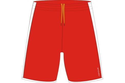 SPOKEY - Fotbalové šortky červeno-bílé vel. XL Fotbal