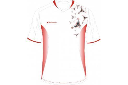 SPOKEY - Fotbalové tričko biele_vzor vel. XXL Fotbal