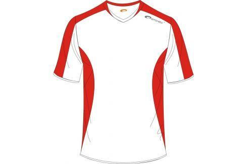 SPOKEY - Fotbalové triko bílo-červené vel. M Fotbal