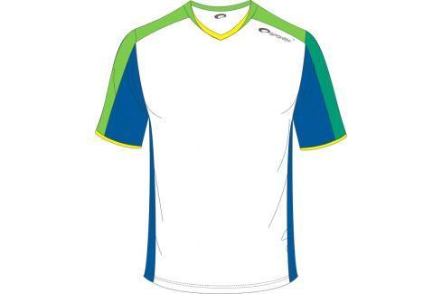 SPOKEY - Fotbalové triko bílo-zelené vel. XL Fotbal