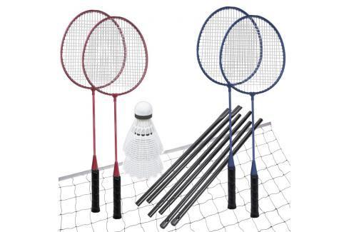 SPOKEY - FUN START - Sada na badminton, 4 rakety, síť, míčky Badminton