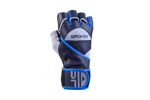 SPOKEY - GANTLET II   Fitness rukavice vel. M černo-modré Rukavice pro fitness