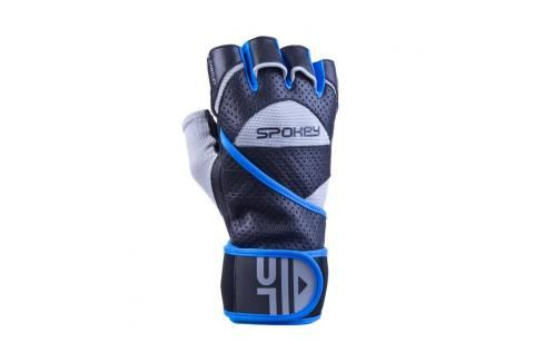 SPOKEY - GANTLET II  Fitness rukavice vel.L černo-modré Rukavice pro fitness