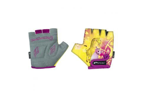 SPOKEY - GIRAFFE GLOVE Dětské cyklistické rukavice dětské XS (16 cm) Cyklistické rukavice