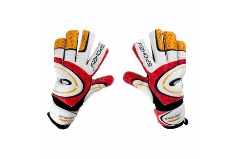SPOKEY - Grasp Brankářské rukavice červeno - bílé roz.8 Fotbal