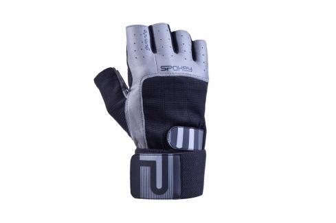 SPOKEY - GUANTO II fitness rukavice vel.XL černo-šedé Rukavice pro fitness