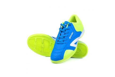 SPOKEY - HALL  JR 1 Juniorská sálová obuv modro-žlutá vel.35 Spokey
