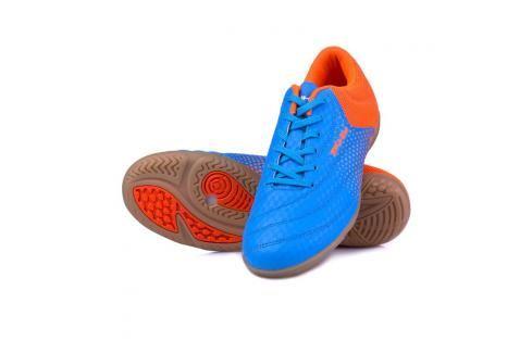 SPOKEY - HALL  JR 3 Juniorská sálová obuv modro-oranžová vel.34 Spokey
