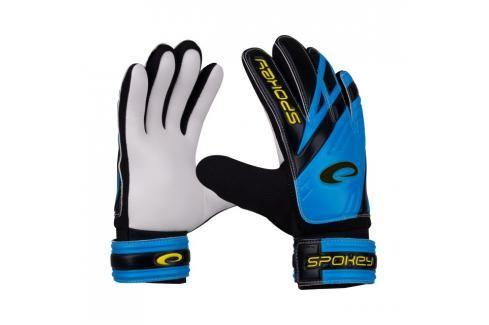 SPOKEY - HOLD Juniorské brankářské rukavice modré roz.4 Fotbal