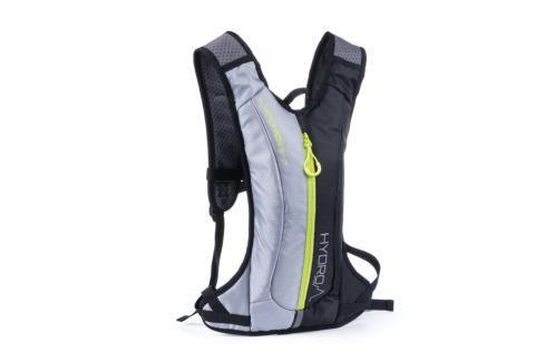 SPOKEY - HYDRO - Cyklistický a běžecký batoh 2l šedo/černý, voděodolný Spokey