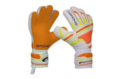 SPOKEY - INTENSE Brankářské rukavice oranžové vel.4 Fotbal