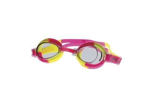 SPOKEY - JELLYFISH Dětské plavecké brýle  růžovo-žluté Plavecké brýle