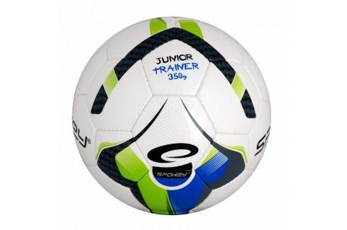 SPOKEY - JUNIOR TRAINER Fotbalový míč zeleno-modrý vel.5 Fotbal