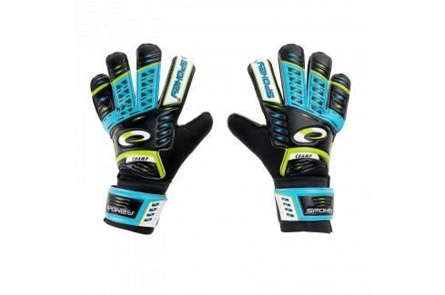 SPOKEY - KEEPER JR Brankářské rukavice modré roz.5 Fotbal