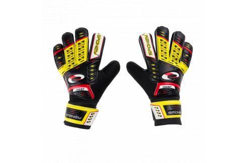 SPOKEY - KEEPER JR Brankářské rukavice žluté roz.5 Fotbal