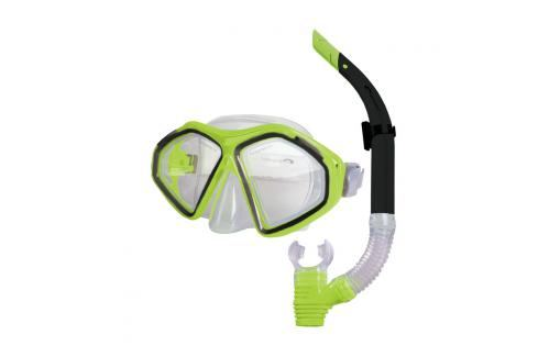 SPOKEY - KRAKEN II Sada brýle + šnorchl limeta Potápěčské soupravy
