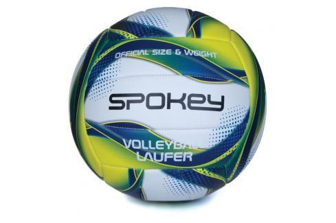 SPOKEY - LAUFER Volejbalový míč bílo-modro-žlutý rozm.5 Volejbal