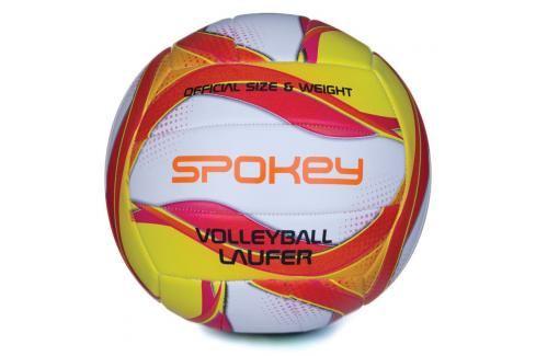 SPOKEY - LAUFER Volejbalový míč bílo-červeno-žlutý rozm.5 Volejbal