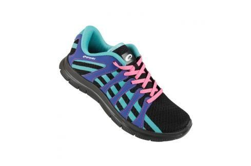 SPOKEY - Liberia 7 Běžecké boty černá - modrá vel. 38 Běžecké boty