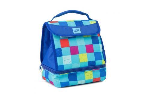 SPOKEY - LUNCH BOX BLUE Termotaška s plastovým boxem a sadou příborů Plážové tašky