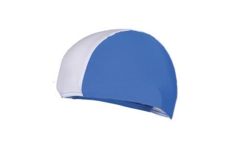 SPOKEY - LYCRAS Plavecká čepice  modro-bílá Čepice na koupání