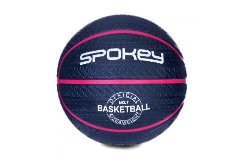 SPOKEY - MAGIC Basketbalový míč  modrý s růžovým  vel.7 Basketbal