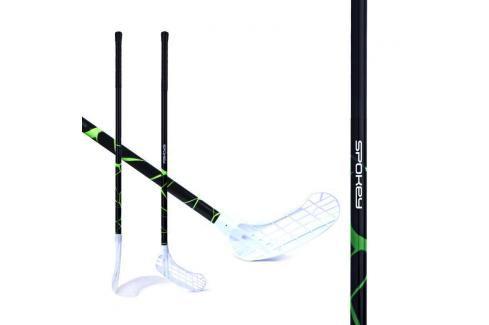 SPOKEY - MASSIG II Florbalová hokejka  L zelená Florbal