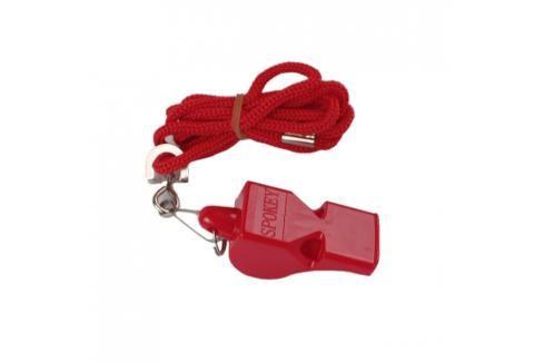 SPOKEY - MAYDAY-Píšťalka plastová červená Kužely, stopky a píšťaľky