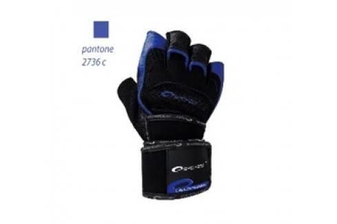 SPOKEY - MITON Fitness rukavice černo - modré vel. M Rukavice pro fitness