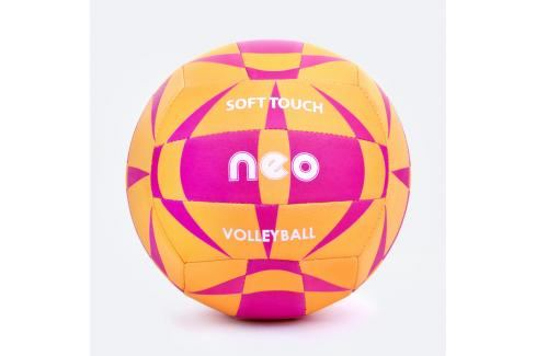 SPOKEY - NEO SOFT neoprenový volejbalový  míč oranžovo-růžový roz. 5 Volejbal
