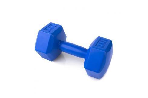 SPOKEY - NISOS Šestihranná činka 3 kg - modrá Činky