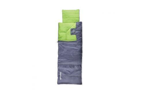 SPOKEY - NOMAD Spací pytel deka šedo-zelený, pravé zapínání Spací pytle