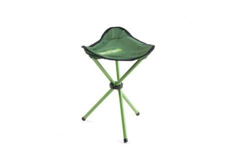 SPOKEY - PATHOOK Rozkládací židle-trojnožka zelená Houpací sítě a cestovní židle