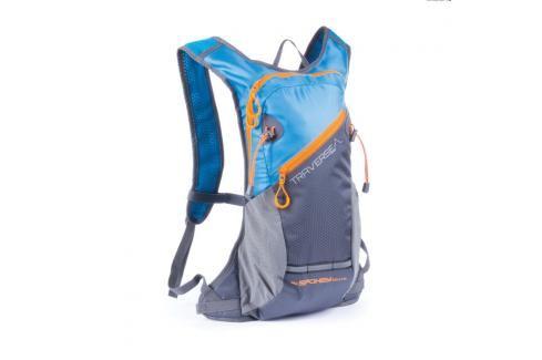 SPOKEY - TRAVERSE - Cyklistický a běžecký batoh 7l  modro/šedý, voděodolný Spokey