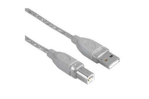 Hama USB / USB-B, 1,8m, blistr (45021) USB kabely