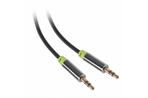 GoGEN Jack 3,5mm, 1,5m, pozlacené konektory (GOGJACK150MM01) Propojovací kabely a redukce